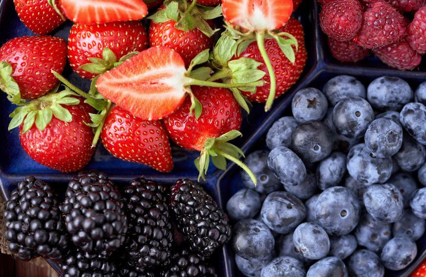 Berries, strawberries, blueberries, blackberries, raspberries